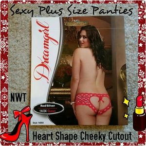 Other - NWT Sexy Plus Size Pantues